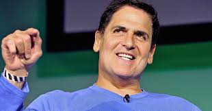 Sports and digital tech billionaire Mark Cuban makes a point