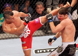 Vitor Belfort v Michael Bisping, UFC fighters