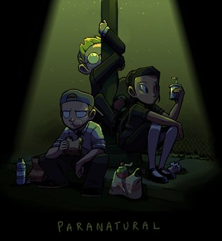 Paranatural webcomic